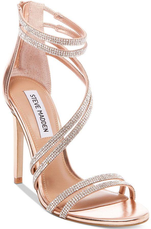 3bff5e18b Steve Madden Women's Sweetest Dress Sandals   Pretty Shoes   Gold ...