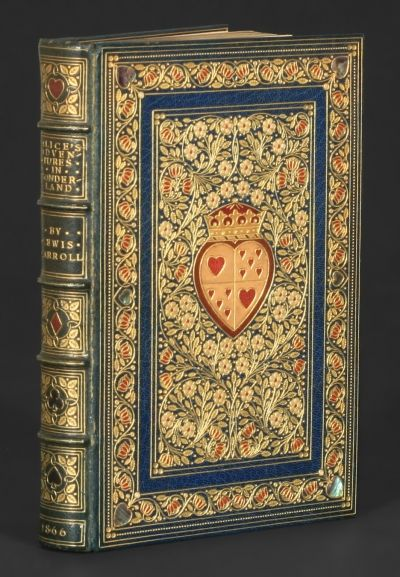 1865 (first) edition of Alice in Wonderland