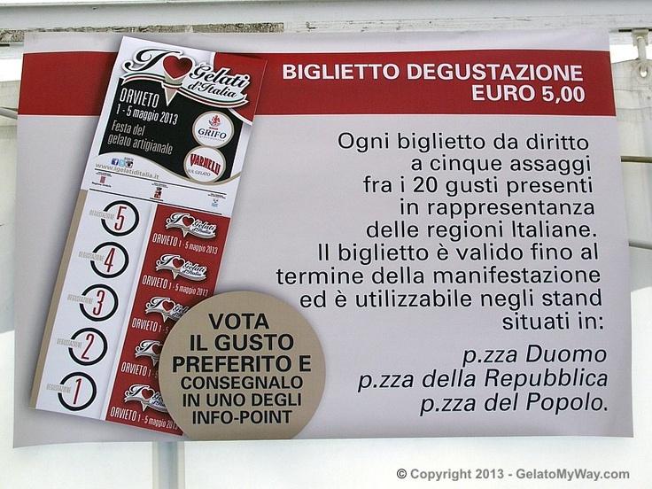 """I gelati d'Italia 2013″ fair   GelatoMyWay.com"