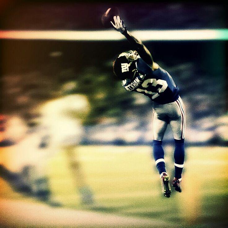 The Catch - November 23, 2014 vs. Dallas Cowboys Odell Beckham Jr. #13 - New York Giants #nyg