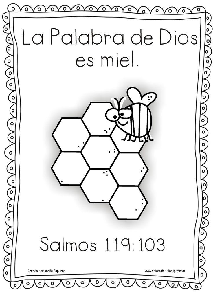 La Biblia es como...   Semilla : Lucas 8:11   Oro y Plata : Salmos 119:72   Fuego : Jeremías 23:29a   Martillo : Jeremías 23:29b   Espa...