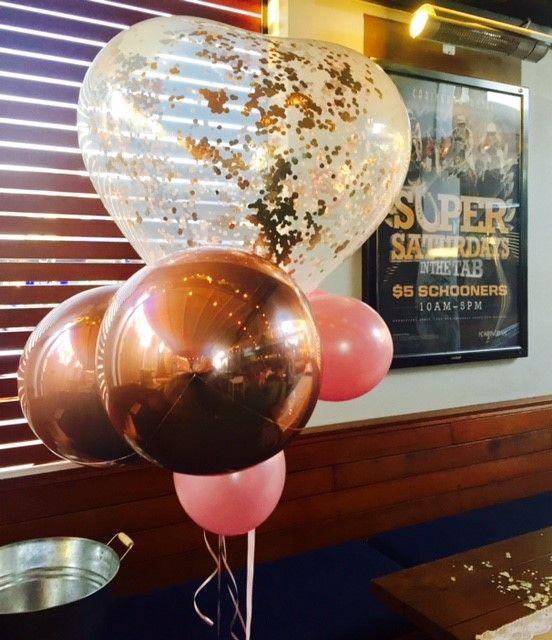 Abstract Heart Balloon Bouquet