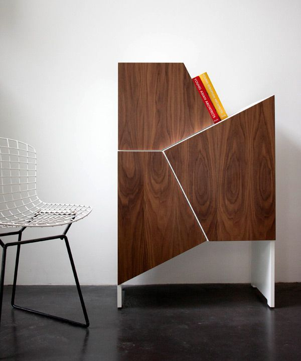 Q: What inspires you and influences your design choices? Architecture tramsforming manufacturing technology from industry to architecture, without losing aesthetic qualities like Jean prouvé used to do. Cabinets with an architectural look. The modernism from the 50's and 60's. Old school computer games from Atari like Tetris as well as puzzles.