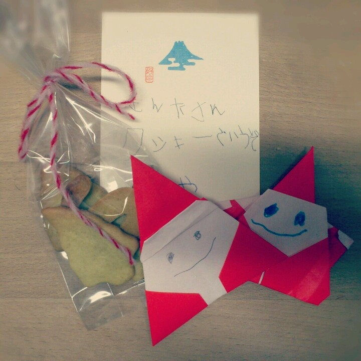 Sakuからサンタさんヘプレゼント。