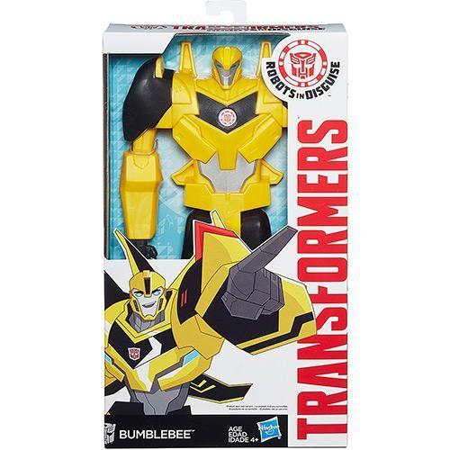 Boneco Transformers Titan Hero Bumblebee + Boneco Transformers Steeljaw - Hasbro