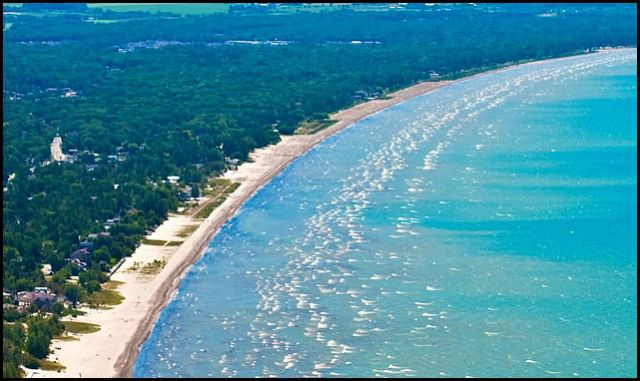 Wasaga Beach, Ontario Worlds longest freshwater beach.  My yearly vacation spot :)