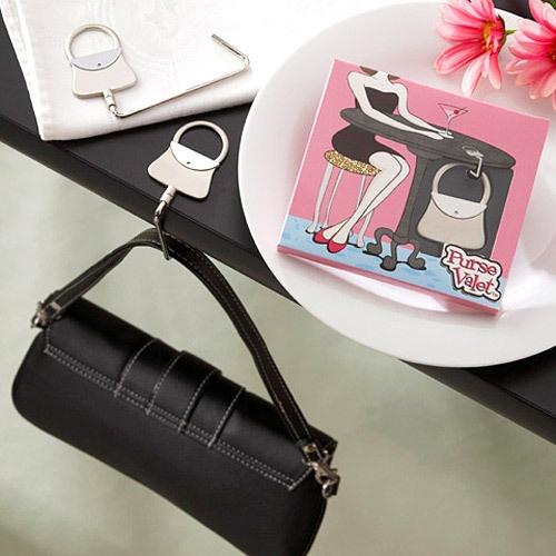Handbag Shaped Purse Hook Favors by Beau-coup