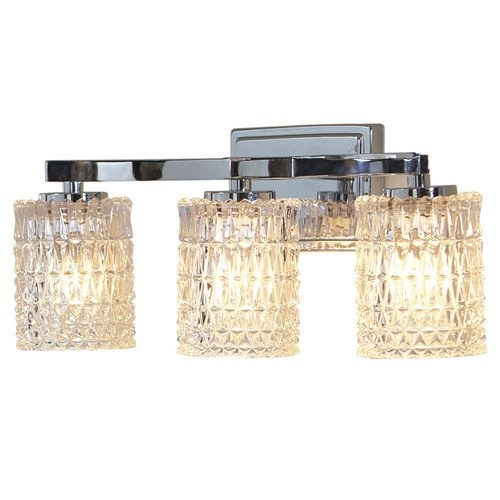 Pic Of Shop allen roth Flynn Polished Chrome Standard Bathroom Vanity Light at Lowe us Canada Find our selection of bathroom vanity lighting at the lowest price