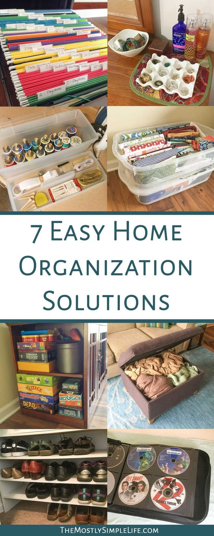 7 Home Organization Solutions