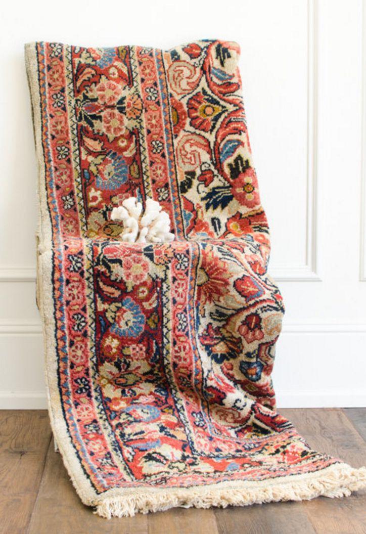 Vintage Persian Rug   HouseofSeance on Etsy
