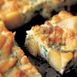Broccolini and Potato Frittata Recipe | Breakfast & Brunch : Savoury ...