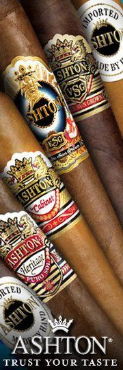 #Ashton Cigars that ESG is a damn good smoke.  Long and tasty!