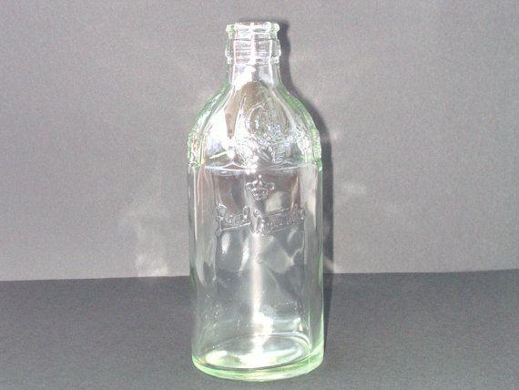 Glass Bottle  Embossed  Vintage Port Wine by PortugueseWonders, $19.50