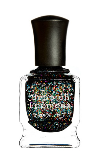 black + sparkle = amazing Deborah Lippmann- Forget You Party All Night