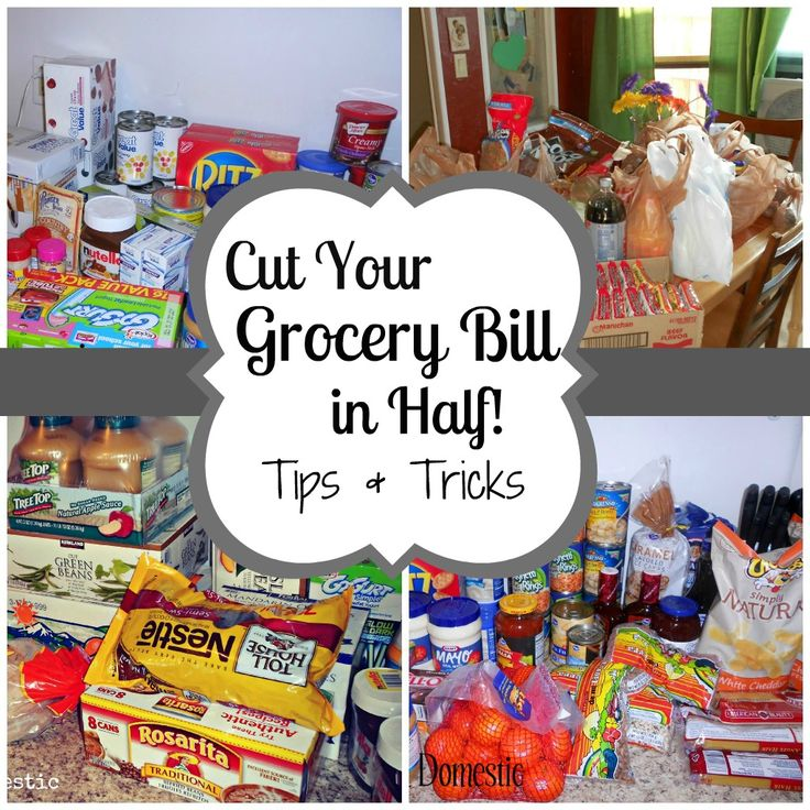 cut your grocery bill in half - read later