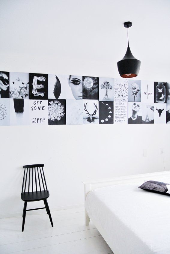 DIY for your home | A simple 3D moodboard fo your wall.