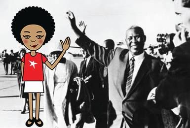 Today we went to the Luthuli Museum. I didn't know who Albert Luthuli was, but I learned that he's another awesome guy who was involved with the struggle during Apartheid. I think he totally deserves a whole museum dedicated to him - I mean, he got a Nobel Peace Prize! I tried to high five him in my selfie but I couldn't reach. #zibu #heritagemonth #southafrica http://tinyurl.com/lqdungp