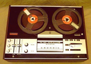 Viertelspur Tonbandgerät von 1973