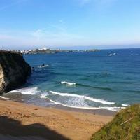 Lusty Glaze Beach - Newquay, Cornwall