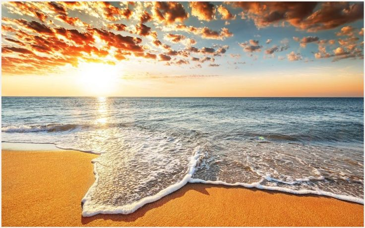 Sea Beach Waves Sunset Wallpaper | sea beach waves sunset wallpaper 1080p, sea beach waves sunset wallpaper desktop, sea beach waves sunset wallpaper hd, sea beach waves sunset wallpaper iphone