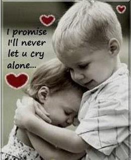 ti prometto che non ti lascerò mai piangere da sola <3