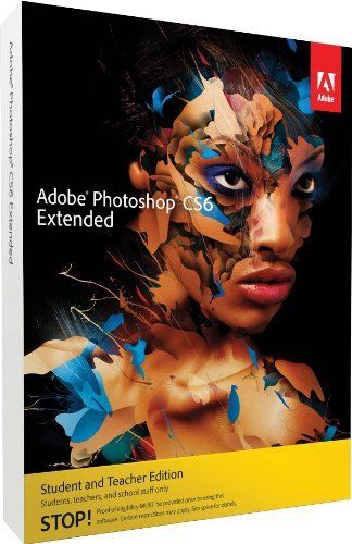 Adobe Photoshop Extended CS6 Student and Teacher Edition Mac by Adobe,