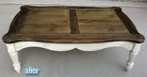 Refinish Coffee Table Like The Two Tone Living Room Makeover Pinterest Dark Kitchen