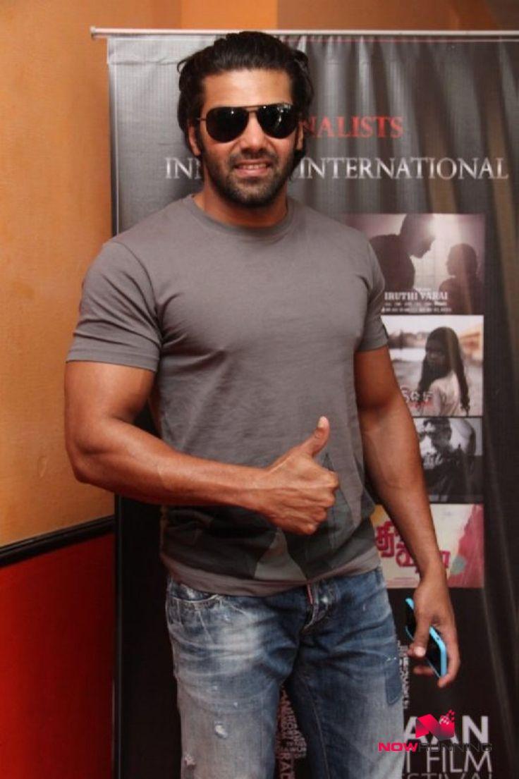 Actor Arya at Radaan Short Film Festival