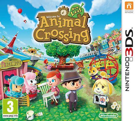 Animal Crossing Nintendo 3DS. Número de préstamos: 17