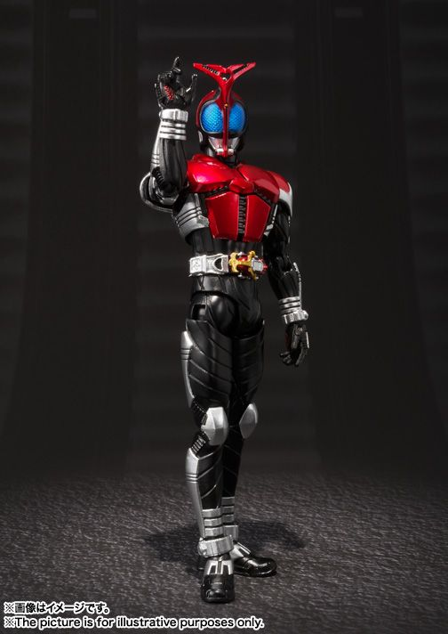 S.H.Figuarts(真骨彫製法) 仮面ライダーカブト ライダーフォーム 01