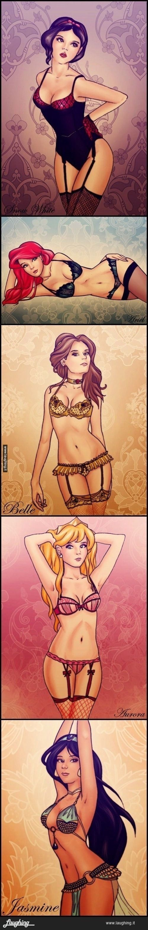 These Disney Princess will below your minds