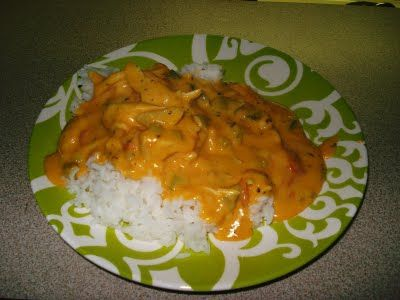Chili Cheese Etouffee- A copycat of the YATZ recipe. So delish. I also add a little hot sauce! Perfect for Mardi Gras!
