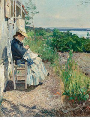 Eilif Peterssen (1852-1928)