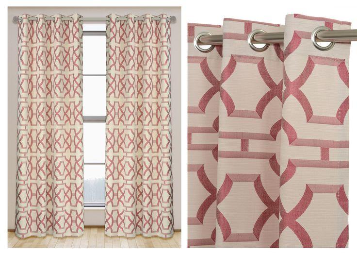 Palace curtain panel set