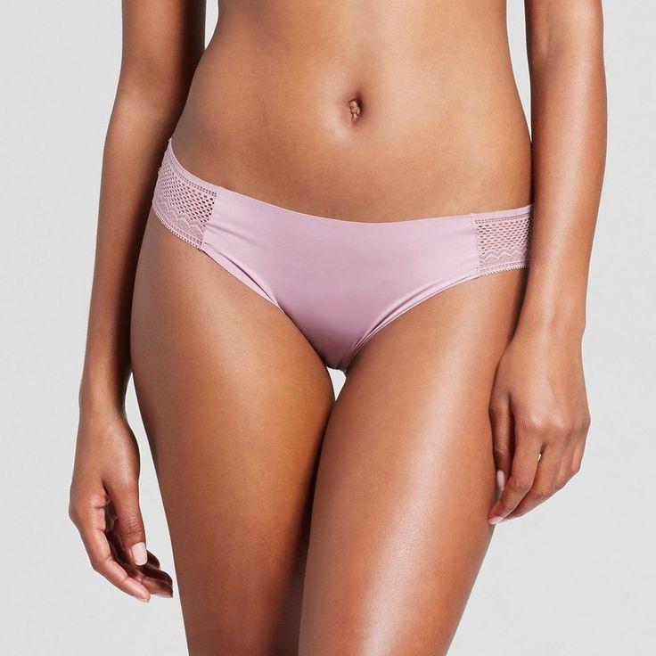 Women's Laser Cut Bikini - Blackberry Cream XS