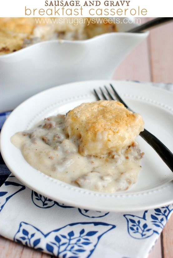 Holidays can be a crazy time of year. Get your day started with this hearty Sausage and Gravy Breakfast Casserole! Best part? It can be made ahead of time! **Today's...