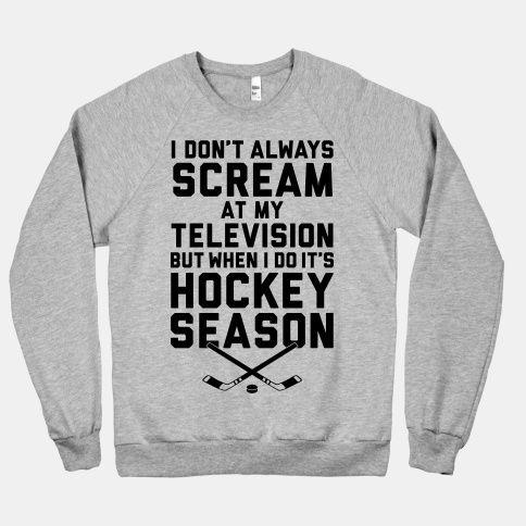 Hockey Season #hockey #NHL #fan