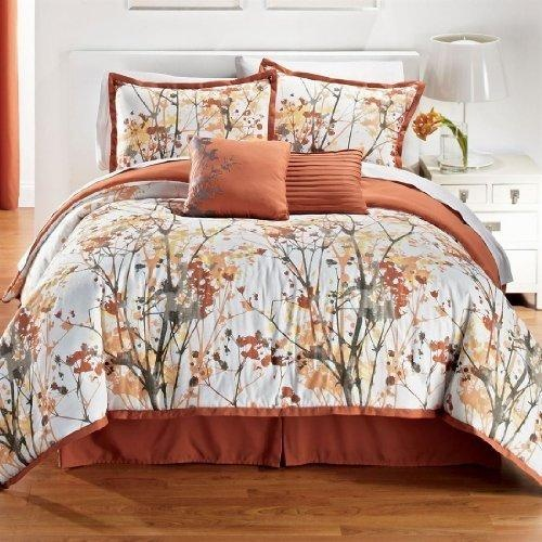Peach White And Gray Comforter Quilts I Like Pinterest