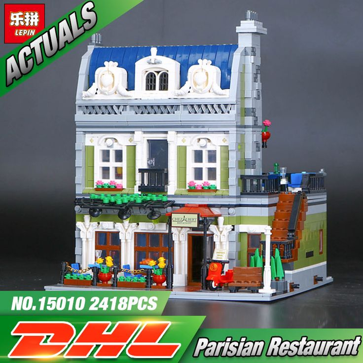 Lepin Parisian Restaurant (Knockoff Lego) (2418 Pieces) Dream city 1/5