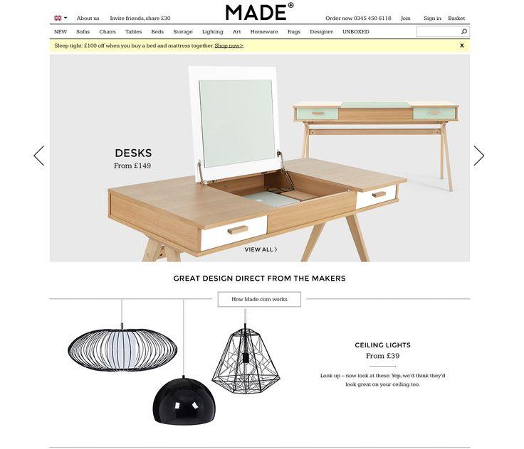 MADE homepage