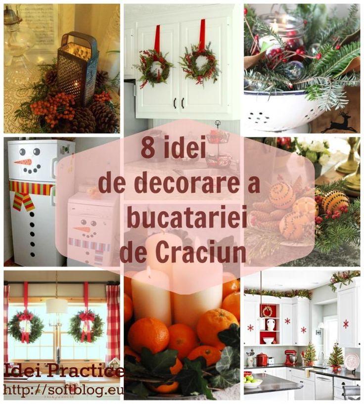 Cum poti decora bucataria de Craciun. 8 idei simple si de efect