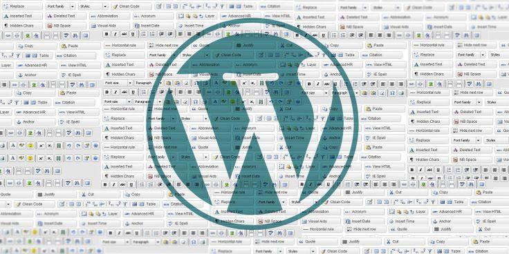 Take Control Of The WordPress Editor With TinyMCE Advanced