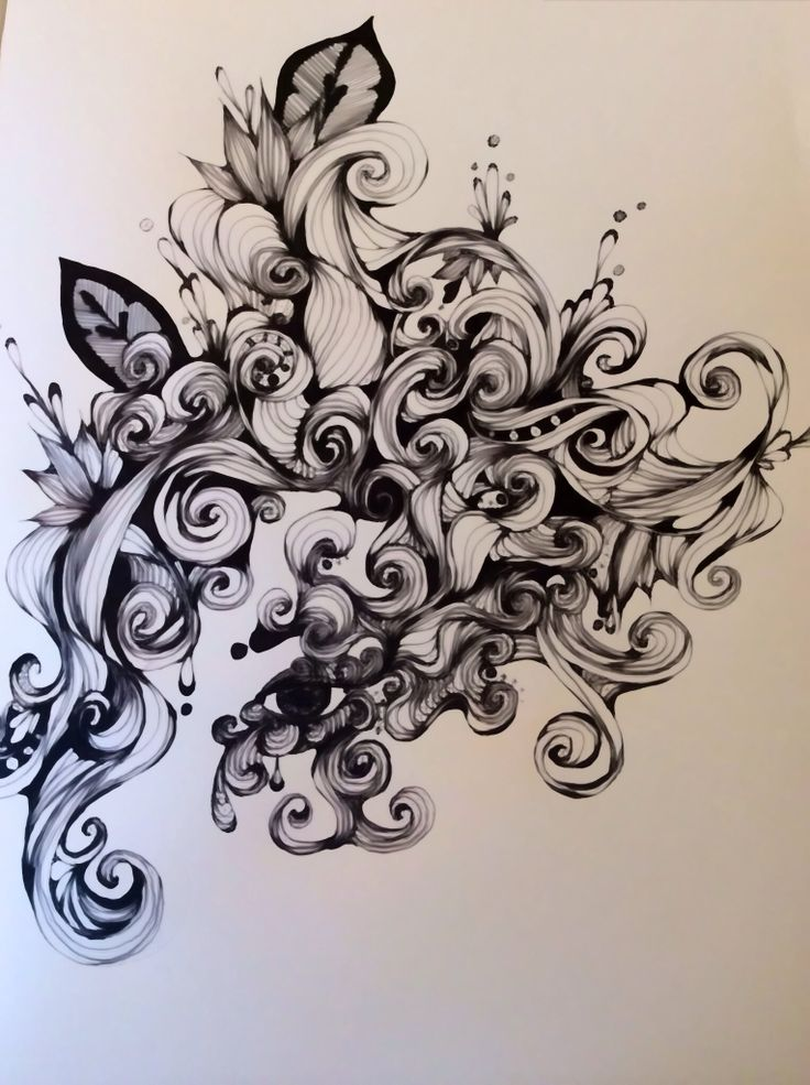 Pen drawing jan 27 2014 Maria O'neil