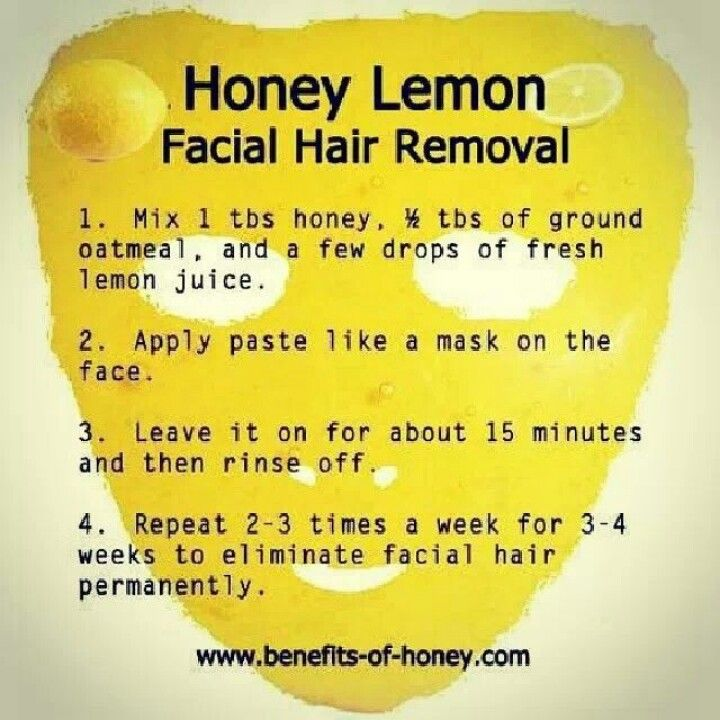 14 best tutto images on pinterest beauty tips beauty hacks and diy honey lemon facial hair removal wonder if i can do this with agave instead this only work for facial hair solutioingenieria Gallery