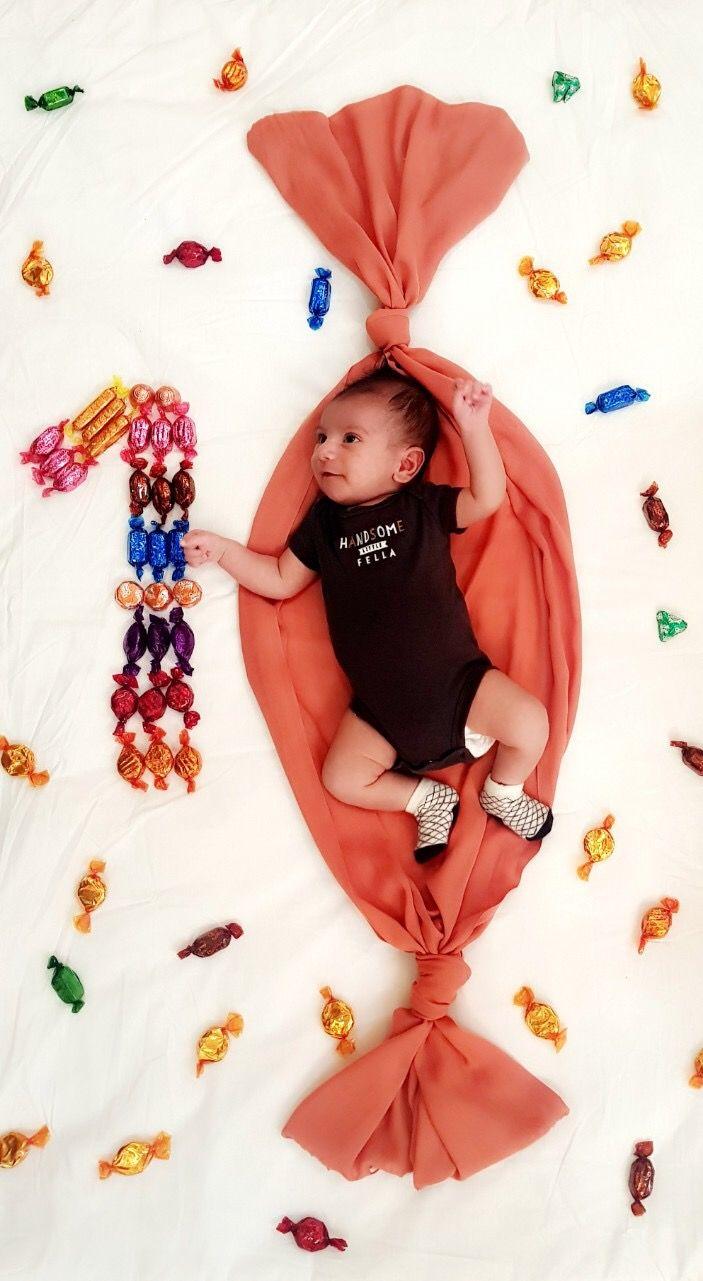 1st Month Baby Photoshoot : month, photoshoot, Month, Photoshoot, Girl,, Newborn, Photos