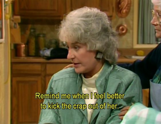 "Bea Arthur's character on The Golden Girls, Dorothy Zbornak, was something of a tough cookie. | One Time Bea Arthur Called Someone Who Didn't Like ""Golden Girls"""