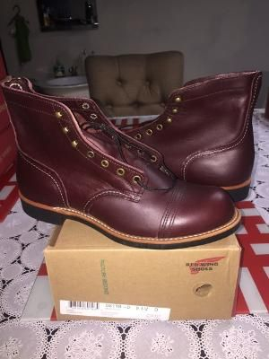 Iron Ranger Red Wing 8119 Factory Second - D 9.5 - 42.5 - 27.5cm 2339998 - Nov 2016