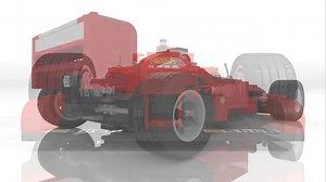 LEGO® Set 2556 - Ferarri Formula 1 Car