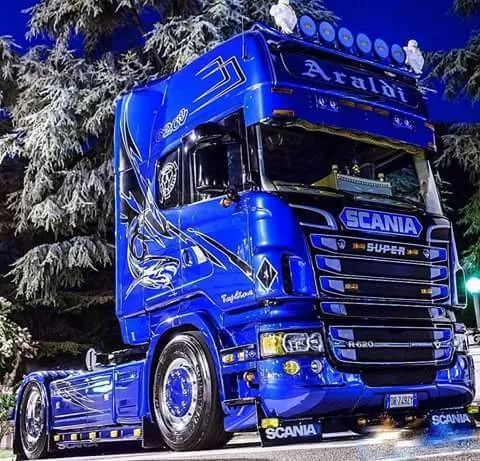 Cabover scania