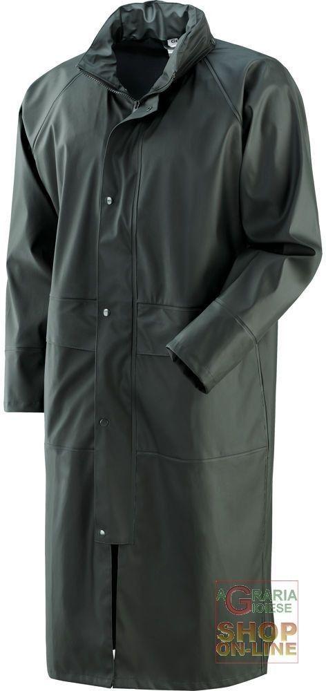 CAPPOTTO IN POLIURETANO PVC 300 GR MQ  COLORE VERDE  TG  M XXL http://www.decariashop.it/impermeabili/3097-cappotto-in-poliuretano-pvc-300-gr-mq-colore-verde-tg-m-xxl.html